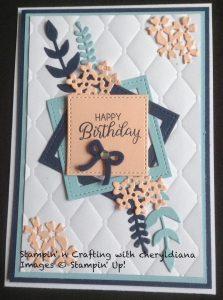 Beautiful Bouquet Birthday Card