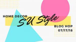 Home Decor SU Style July Logo