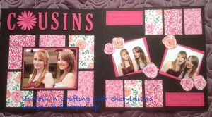 Double Scrapbook Page