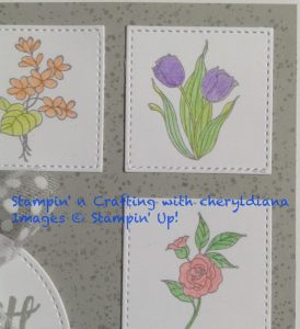 Stamped Flowers