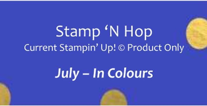 Stamp 'N Hop July 2020