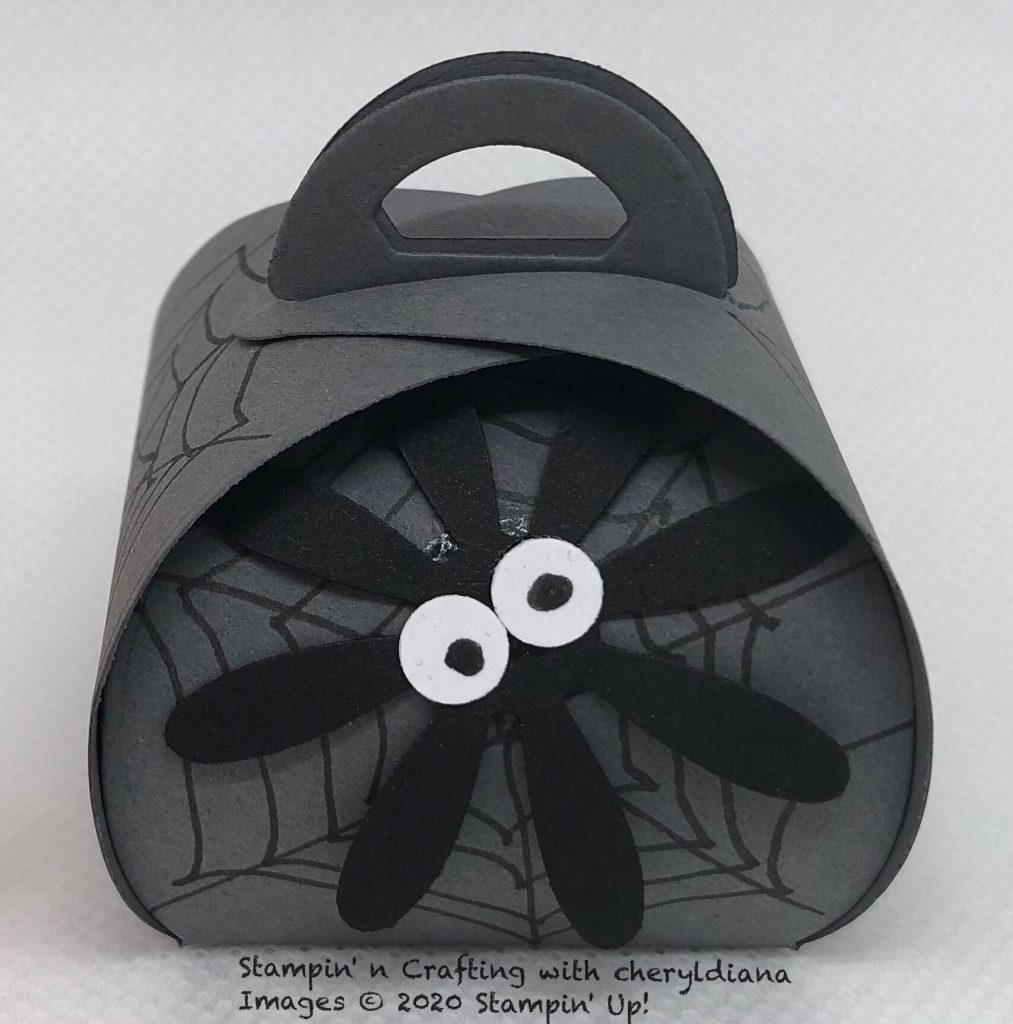 Spider Mini Curvy Keepsake Box