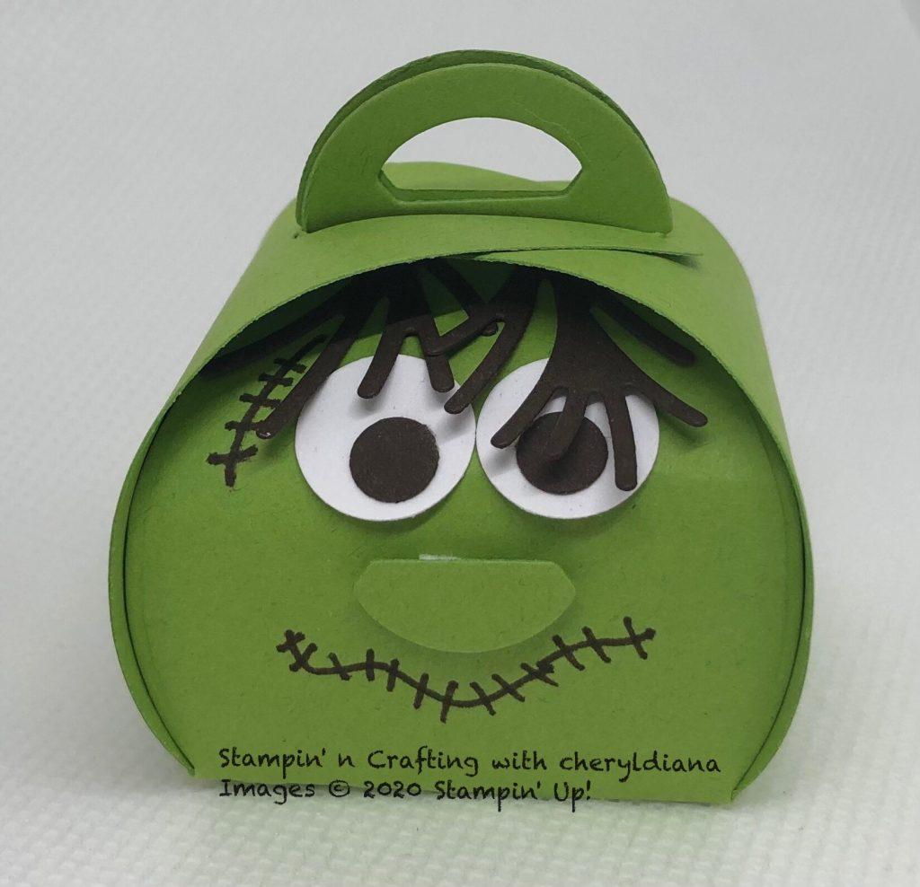 Monster Mini Curvy Keepsake box