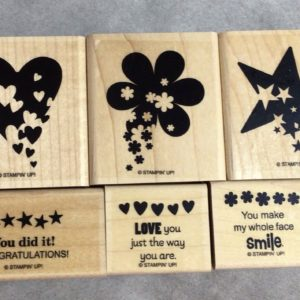 Sprinkled Expressions stamp set