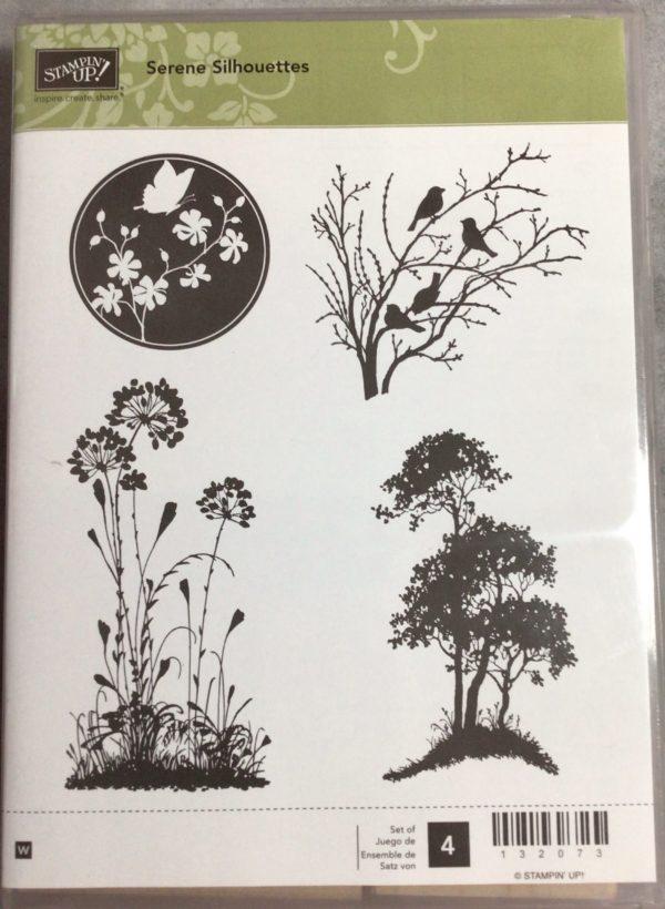 Serene Silhouette stamp set