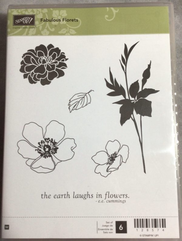 Fabulous Florets stamp set