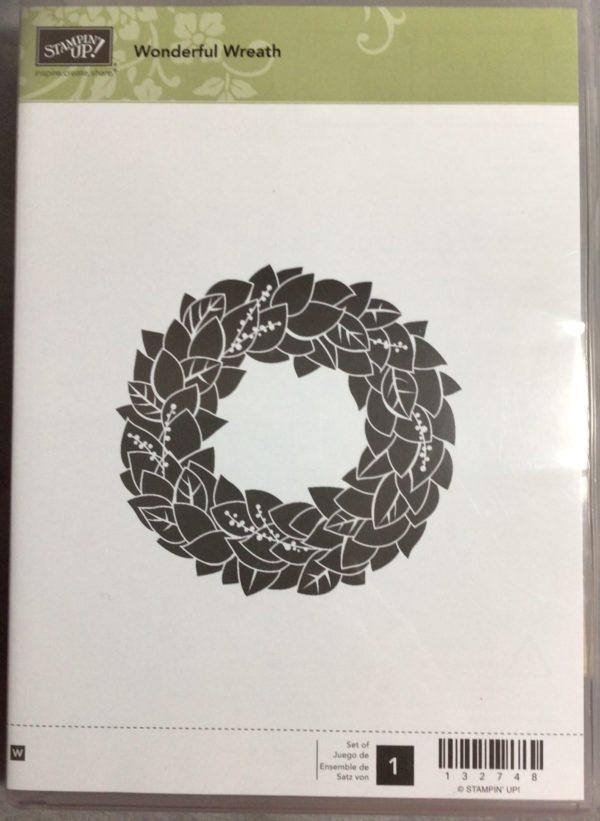 Wonderful Wreath stamp set