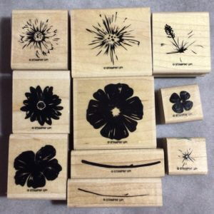 Greenhouse Garden stamp set