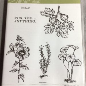 Fabulous Flora stamp set