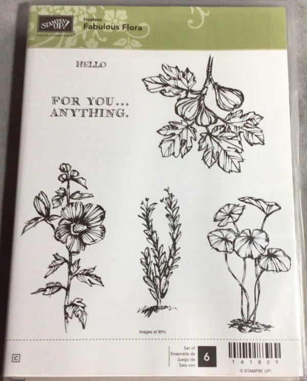 Fabulous Flora stamp set