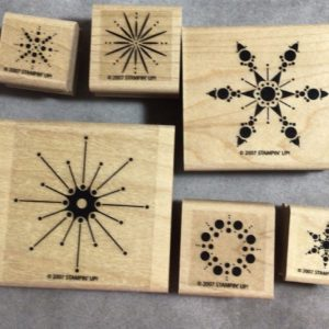Snow Burst stamp set