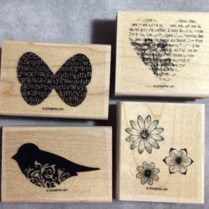 Punch Potpourri stamp set