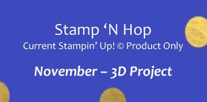 Stamp 'n Hop - 3D project Title