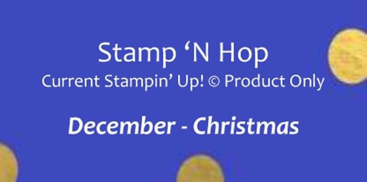 Stamp 'N Hop December Title