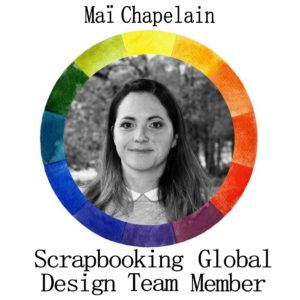 Photo of Mai Chapelain this month's Design Team Member