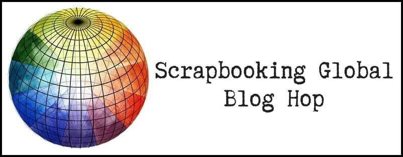 Scrapbooking Global Blog Hop Title