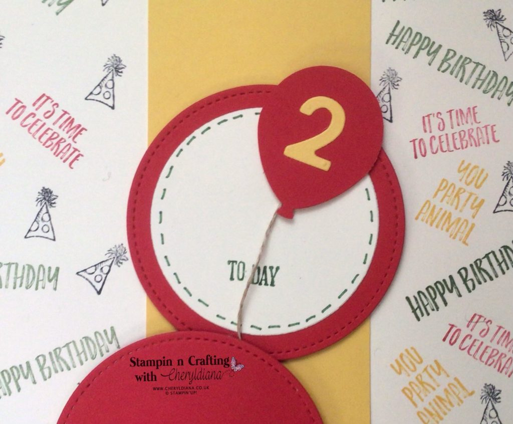 Photo of 2 Today circle title - Scrapbook Layout - Its a Bing Thing