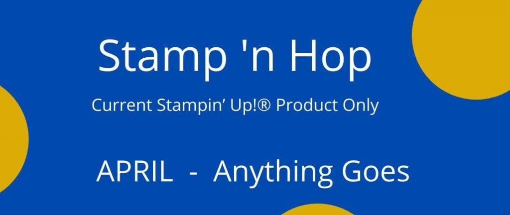 Stamp 'n Hop April Blog Hop Title